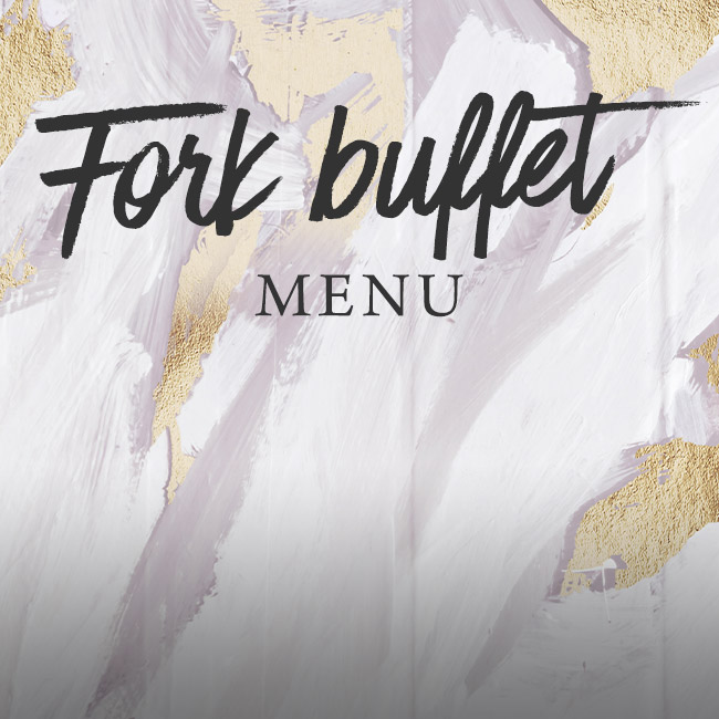 Fork buffet menu at The Barnt Green Inn