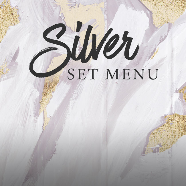 Silver set menu at The Barnt Green Inn