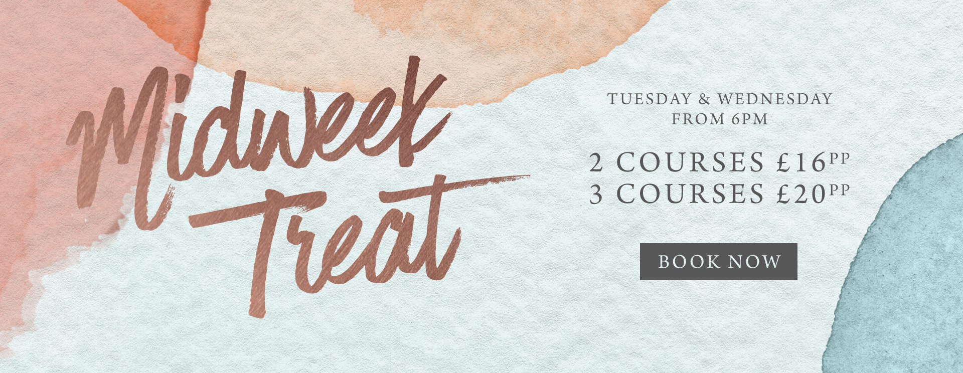 Midweek treat at The Barnt Green Inn - Book now