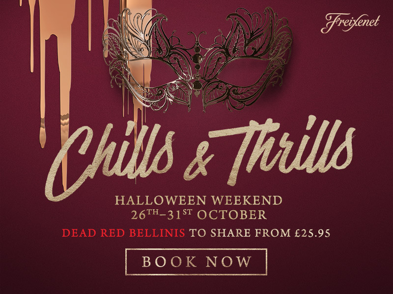 Chills & Thrills this Halloween at The Barnt Green Inn