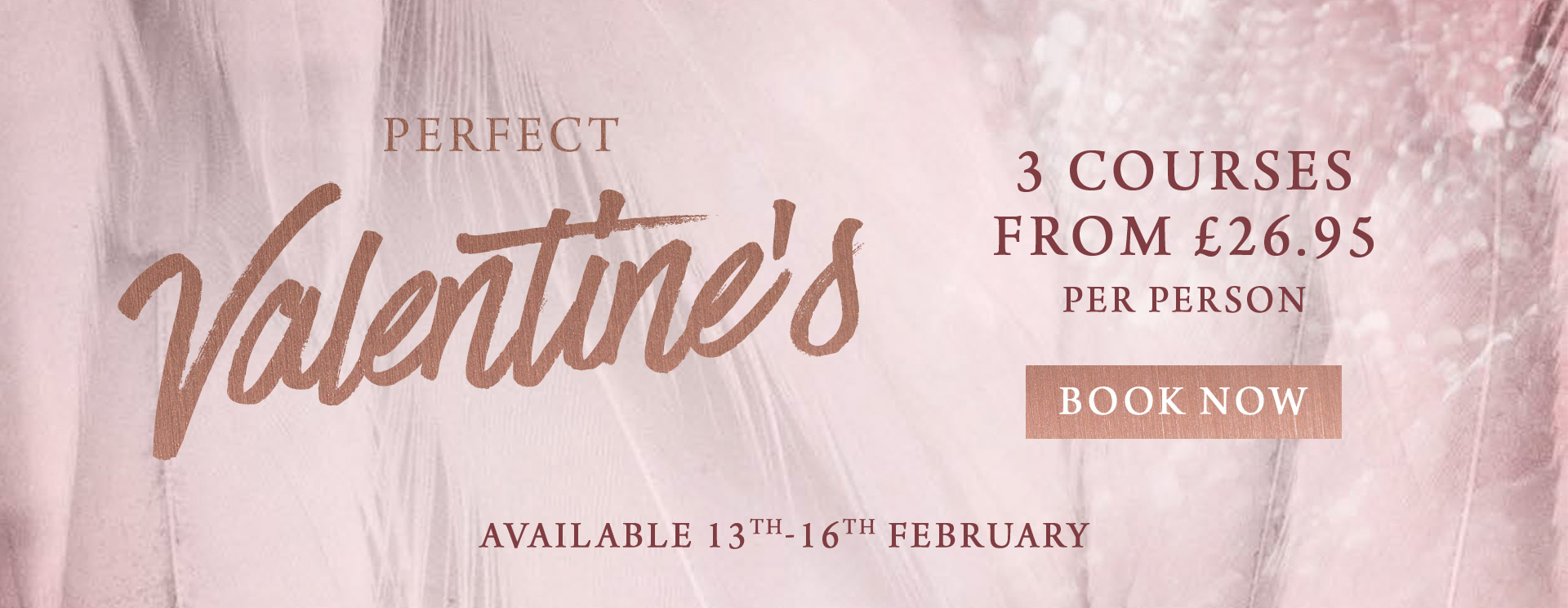 Valentines at The Barnt Green Inn